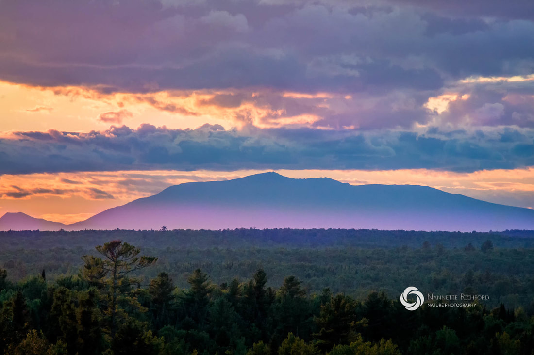 Mt Katahdin sunset